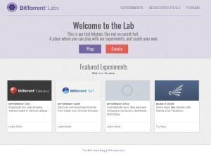Bittorrent Labs Alpha Testing