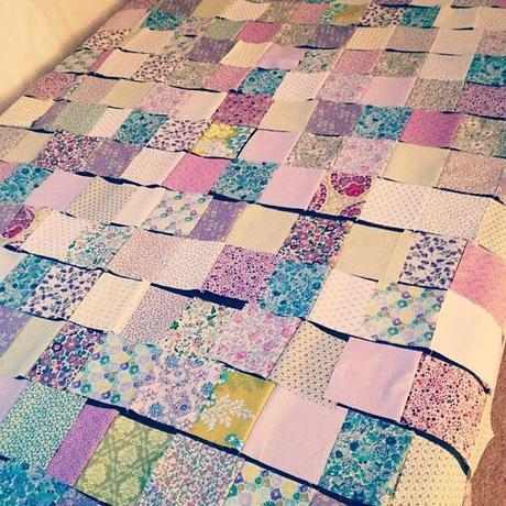 A very big quilt