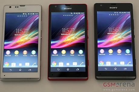 Sony Launches Xperia L and Xperia SP