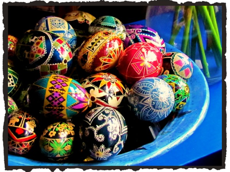 DIY Ukranian Easter Egg Design