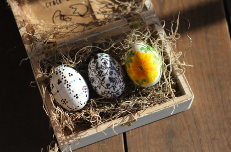 Whimisical DIY Easter Eggs