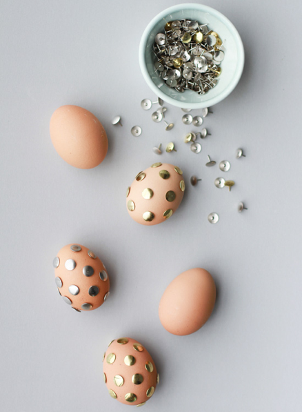 DIY Funky Easter Eggs