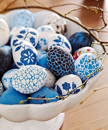 DIY Mosaic Easter Eggs