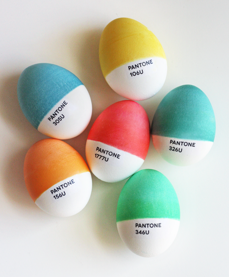 Funky DYI Easter Eggs