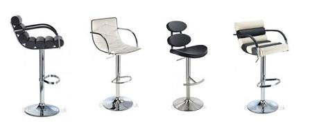 modern retro bar stools. comfortable metal bar stools with back ... -  Comfortable - Comfortable Bar Stools With Backs Baileys Kitchen