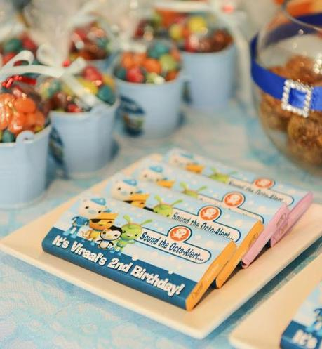 Under The Sea With The Octonauts Themed Party By