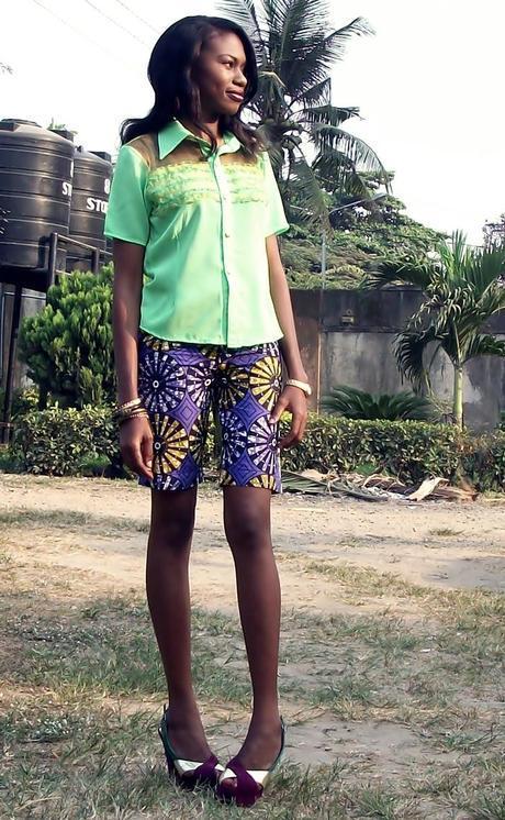 Ankara Bermuda Shorts