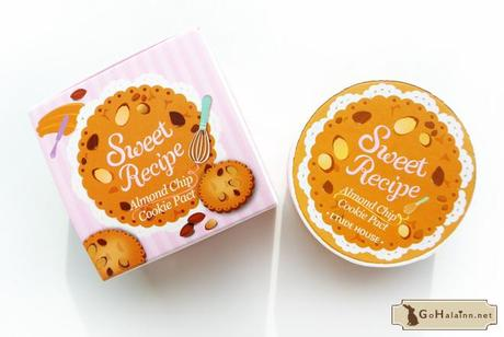 2013 Etude House Sweet Recipe Almond Chip Cookie Pact Powder Review