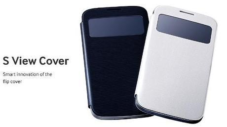 Official Samsung S View Cover for Galaxy S4