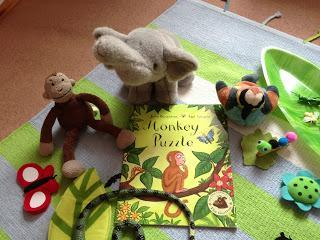 Virtual Book Club for Kids: {Monkey Puzzle}