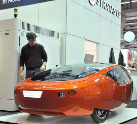 Urbee 2 2 Sturdy 3D Printed Hybrid Car Gets Close to Mass Production