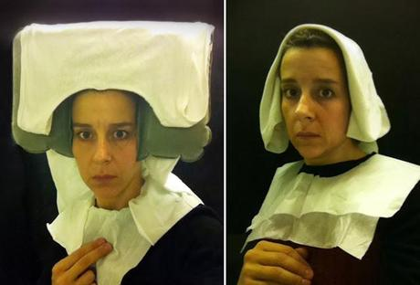 Lavatory Self-Portraits in the Flemish Style :: artist, N...