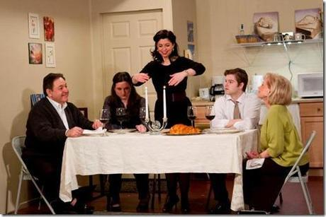 Andrea Rappaport, Judi Schindler, Rick March, Laura Coleman and Shaun Nathan Baer in Beau Jest