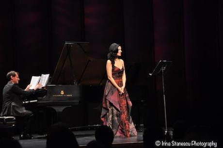 When the piano meets the voice - recital in Los Angeles  - PHOTOS