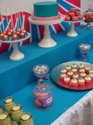 A Pink, Blue and Silver Birthday party by A Touch of Style Events