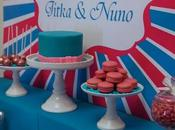 Pink, Blue Silver Birthday Party Touch Style Events