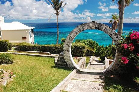 wedding tradition bermuda moon gate