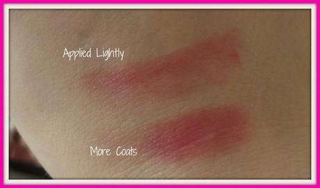 Pink Lipstick, Sheer Lipstick, Bright Pink Lipstick, Swatches