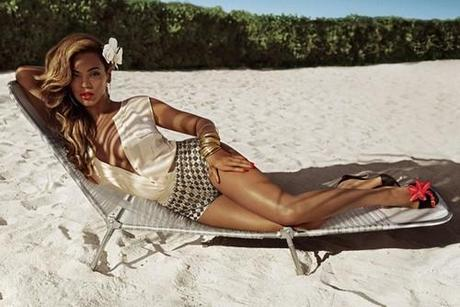 Beyonce for H&M; Summer 2013 Ad Campaign shot by Inez &...