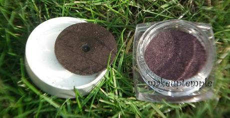 L'oreal : L'oreal Infallible Eye Shadow Burning Black Swatches