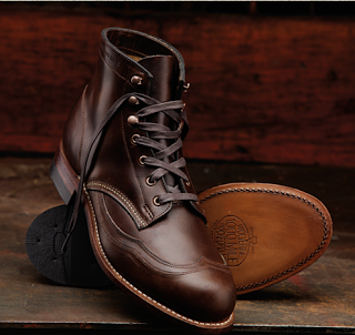 The Cobbler's Stamp of Approval:  Wolverine Addison 1000 Mile Wingtip Boot