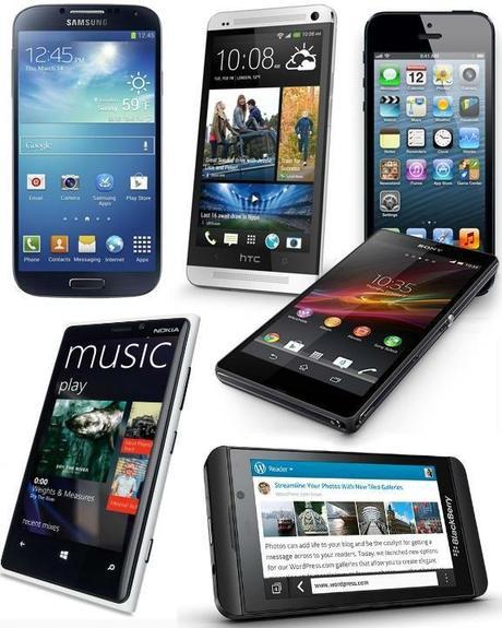 Comparison of High-end Smartphones
