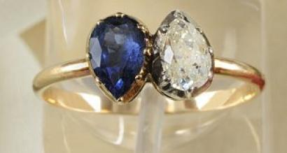 Napoleon-ring, napoleon engagement ring, napoleon ring auction, napoleon engagement ring auction
