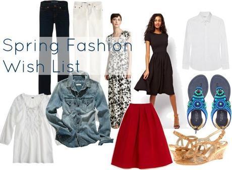 Fantasy Fashion Closet for Spring 2013