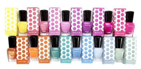 Zoya Updates! - Zoya Color Cuties and Zoya Summer Collections