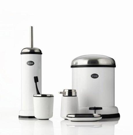 Vipp bathroom accessories  Ambiance salle de bains