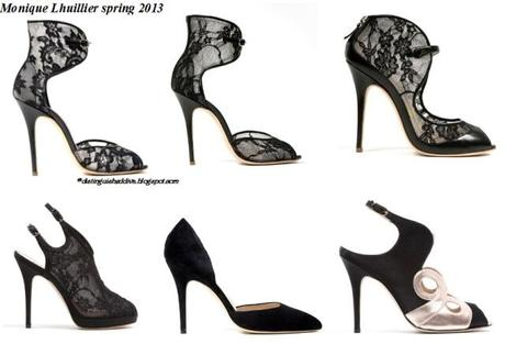 Monique Lhuillier First Ever Shoe Collection Spring 2013