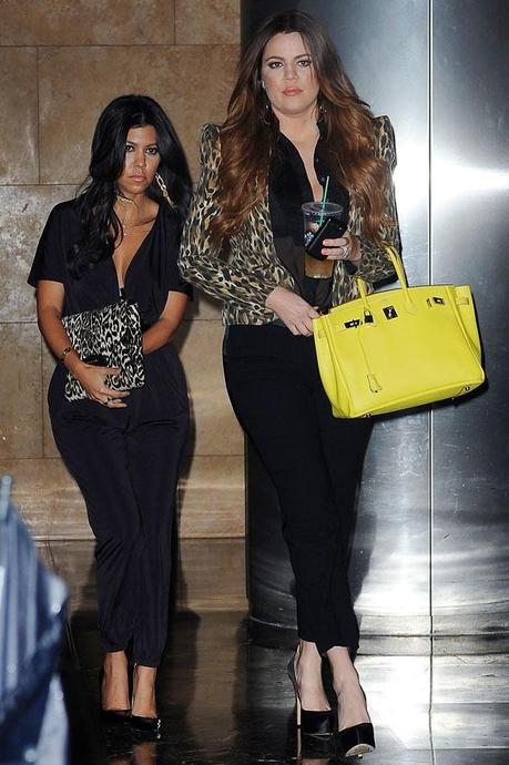 khloe kardashian yellow trends 2013 covet her closet celebrity fashion how to trend