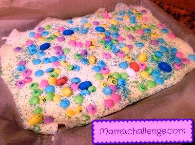 Chef Jackson's Microwave Easter Day Bark {Recipe}