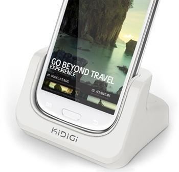 KiDiGi Cover-Mate USB desktop charger for Galaxy S3