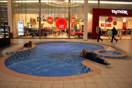 Road 3D arts-Swimming-Pool