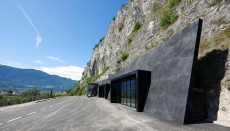 In the Rock by Bergmeisterwolf Architekten