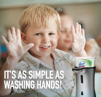 Introducing the LYSOL No-Touch Hand Soap System, Plus a Contest to Win a Trip to Disney World!