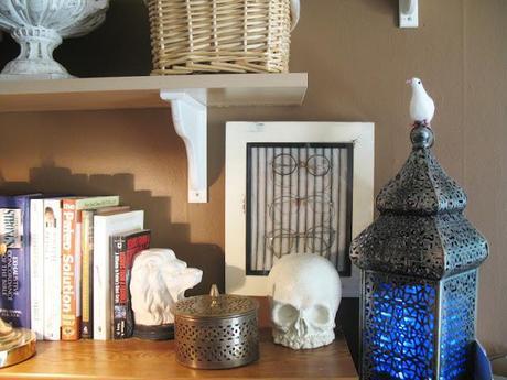 Halloween skull, the artsy way