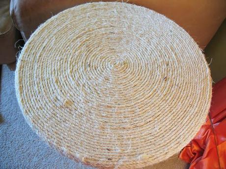 Rope wrapped table