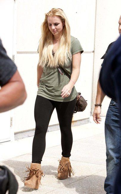 britney spears ankle boots