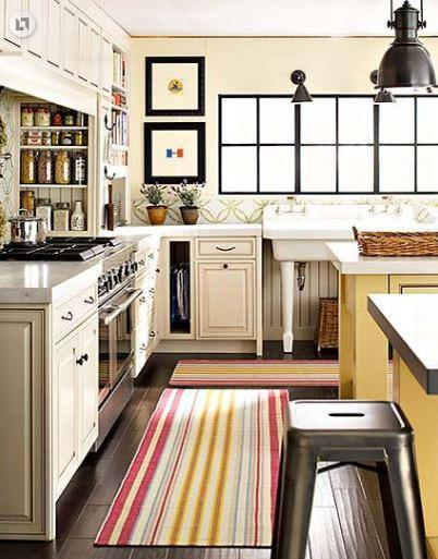decor kitchen rugs2 Decorating the Kitchen for Spring and Prize Winners HomeSpirations