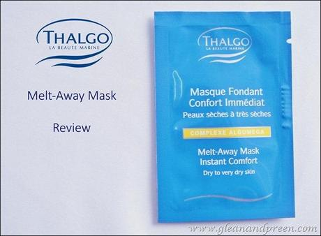 Thalgo Melt Away Mask Review