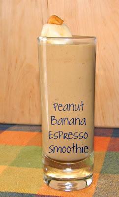 Peanut+Banana+Espresso Smoothie - Paperblog