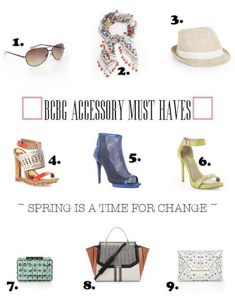 BCBG Spring Accessory Must Haves