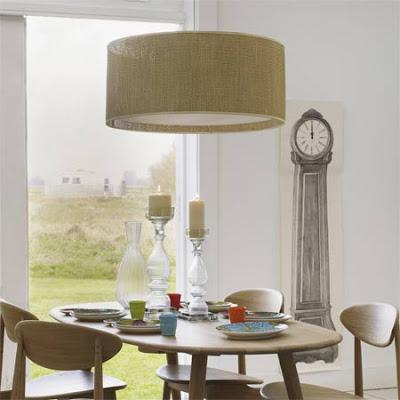 Modern Drum Pendants For Dining Rooms Part 57