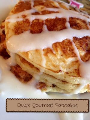 Make Gourmet Pancakes in Under 10 Minutes {Recipe}