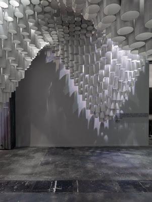 paper arts | paper art installation