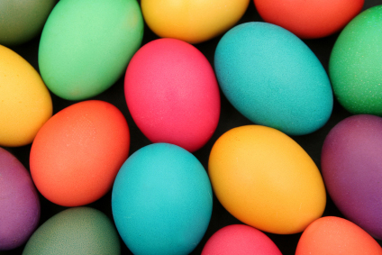 The best way to color easter eggs paperblog - What are the easter colors ...