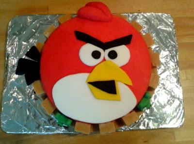 Ta-dah! Tuesday - Angry Birds Cake