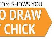 Draw Cartoon Baby Chick